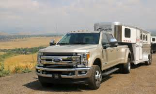 driving towing and roading in the 2017 ford