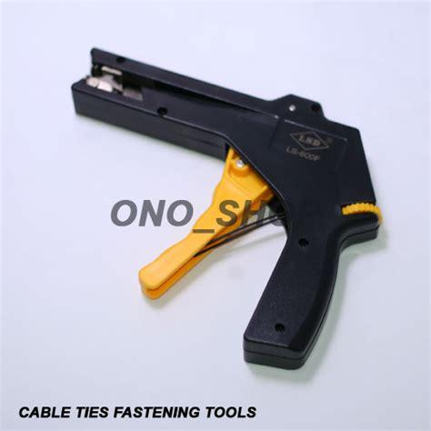 Alat Pemotong Kabel 4 Ukuran jual cable ties fastening tool alat pengencang dan pemotong kabel ties ono shop