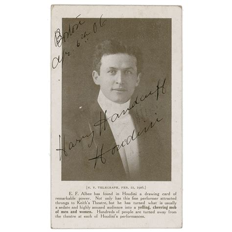 Harry Houdini Also Search For Harry Houdini