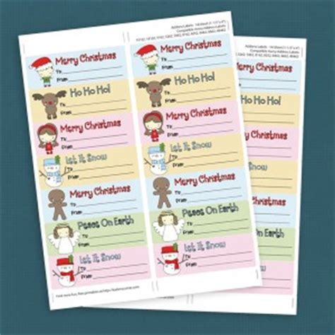 printable gift tags avery 6 best images of printable christmas labels on avery