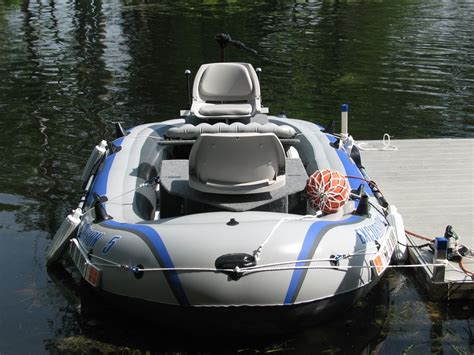 inflatable boat vs aluminum intex excursion 5 inflatable mod the hull truth