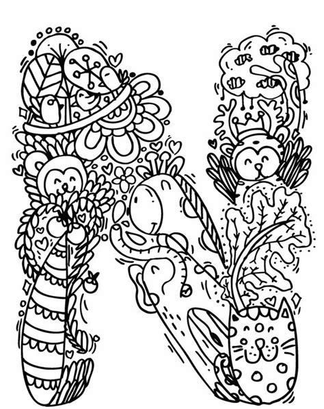 doodle alfabet alphabet quot n quot doodle elephant bell drawings