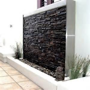 stone wall water features make your house features stunning with wall water features garden