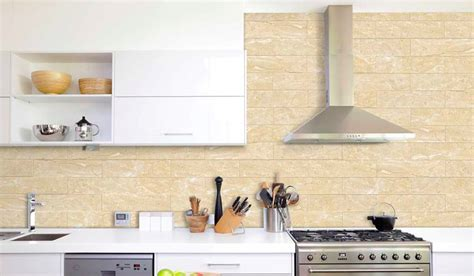 beige backsplash tile beige breccia 4x16 quot glossy ceramic backsplash tile