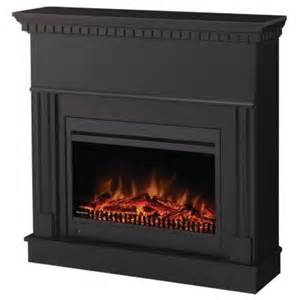 home depot electric fireplace muskoka burton 40 in convertible electric fireplace in