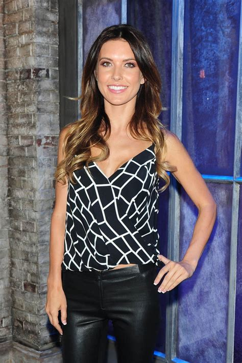 Audrina Patridge Gets A New by Audrina Patridge At Vh1 Big Morning Buzz In New York