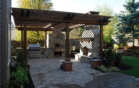 patios with pergolas paver patio with pergola landscaping gardening ideas