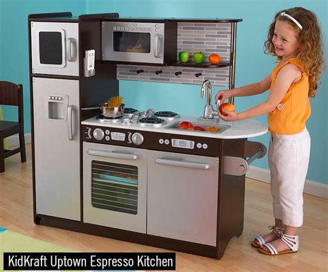 Kidkraft Espresso Toddler Kitchen Brown by Best Play Kitchen For Reviews Chainsaw Journal
