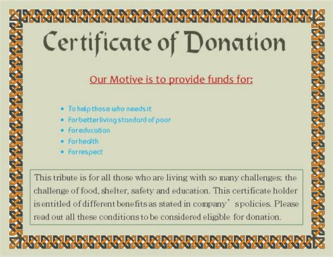 K9 Donation Letter Charity Voucher Templates Company Documents