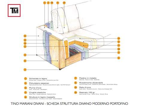 struttura divano divani tino mariani divani struttura in legno