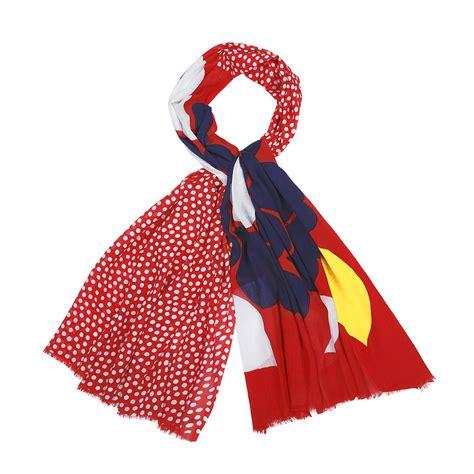 marimekko karjalanruusu scarf marimekko scarves