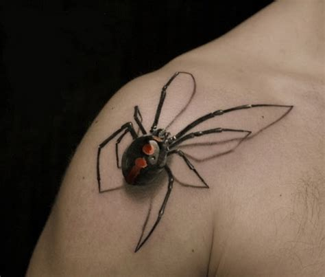 spider tattoo classic designs for mens shoulder tattoo love