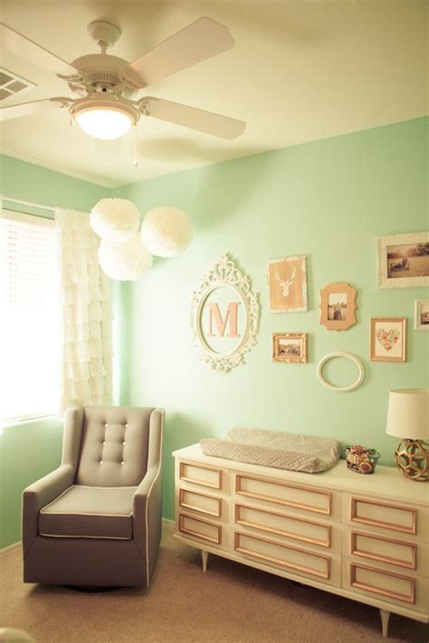 Favorite Designer Mint by Mint And Gold Nursery Design Pink Mint And Gold Nursery