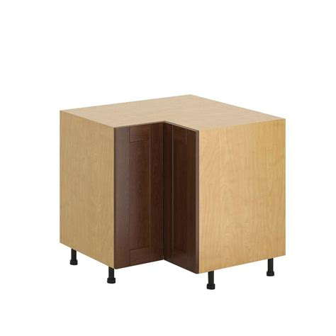 Hton Bay 32 W Corner Cabinet With Two Wood Doors Cabinets Lazy Susan Assembly 28 Images Lazy Susan Corner Kitchen Cabinet Assembly Rta