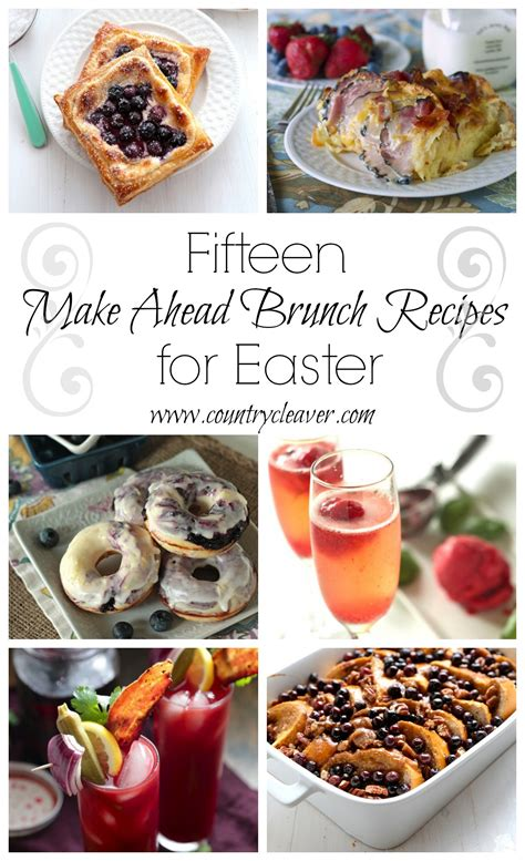 15 favorite brunch ideas for easter and beyond country cleaver