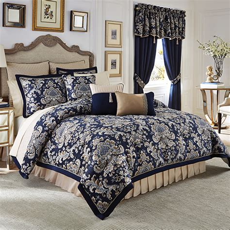 gold imperial comforter set croscill 174 imperial bedding collection boscov s