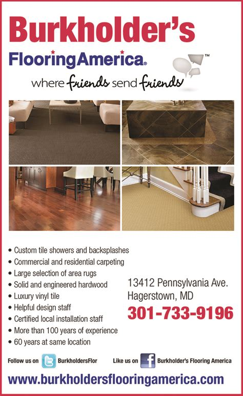 Hagerstown Floors Hagerstown Md by Burkholder S Floor Covering Hagerstown Direct Mail