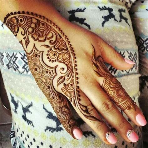 how to draw unique simple henna design best mehndi