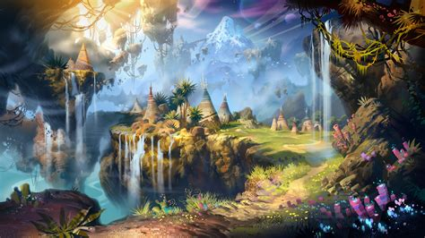 magic painting free landscape hd wallpaper and background 1920x1080