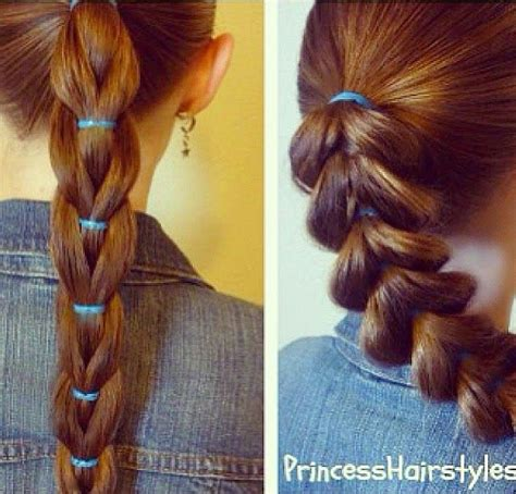 pull through braid easy hairstyles cute girls hairstyles 15 sweet hairstyles for girls latest hair styles for