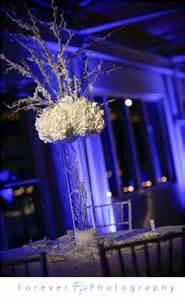 snowy branch centerpiece help needed weddingbee