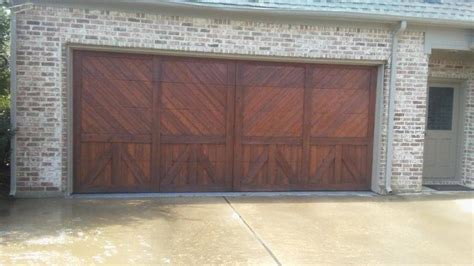 Garage Door Stain Garage Door Shutter And Column Staining Best Stain