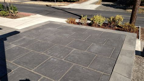 12x12 Paver Patio Cost by Concrete Cement Outdoor Pavers 24x24 Beautiful Garden With