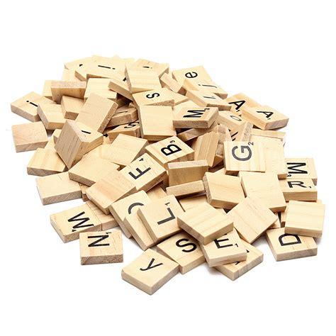 wooden scrabble set 100pcs school wooden scrabble tiles letters wedding