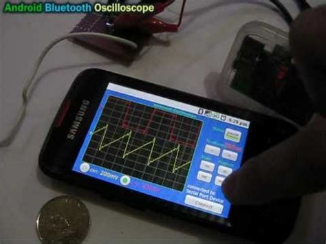 android oscilloscope android bluetooth oscilloscope