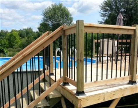 Re De Patio En Aluminium by Distributeur Barreaux Aluminium Decks Gatineau Outaouais