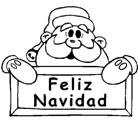 imagenes en blanco de navidad dibujo de feliz navidad para colorear dibujos net