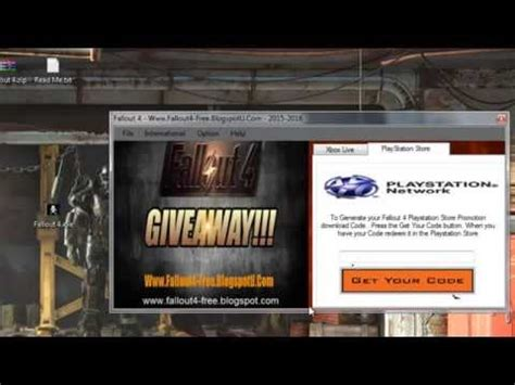 Xbox One Game Code Giveaway - fallout 4 redeem code giveaway xbox one ps4 youtube