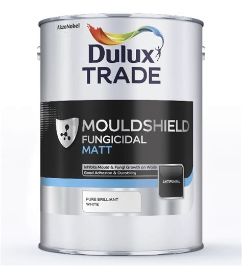 dulux trade mouldshield fungicidal matt custom mixed colours 5l