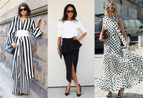 Heath Ss Dress 2 Color Combination the most stylish ways to wear black and white