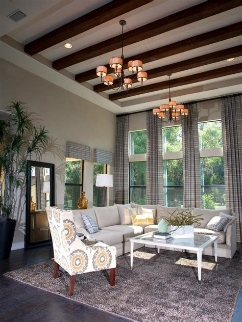 wooden living room photos hgtv