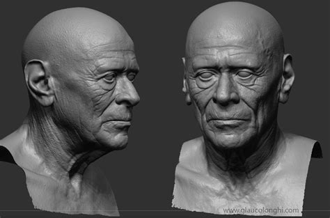 zbrush tutorial portrait a realtime portrait making of tutorial by glauco