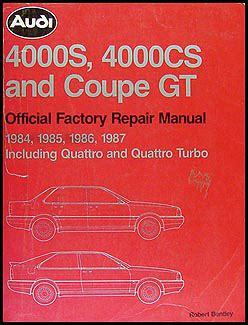 service manual manual for a 1987 audi 4000cs quattro fuse guide 1987 audi 4000cs quattro 1984 1987 audi 4000s 4000cs and coupe gt repair shop manual
