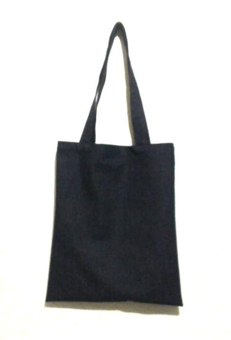Tote Bag By Toko 354 jual tas denim totebag polos ranggowo