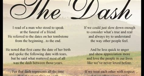 printable version of the dash poem audrianna s story 10th birthday