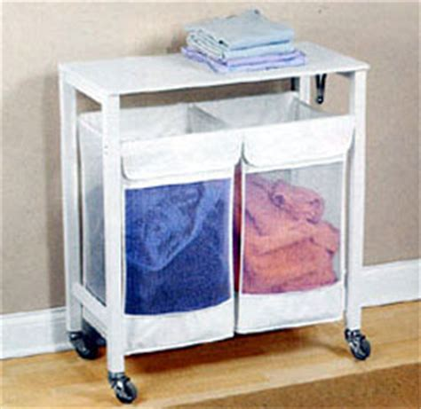 laundry sorters and hers laundry sorter with folding table seville classics 3 bag
