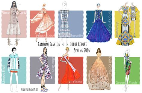 fashion colors for 2016 i colori della primavera 2016 nel pantone fashion color