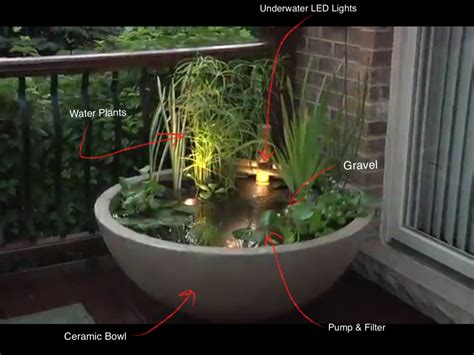 Patio Water Garden by Water Gardens Patio Water Garden Small Water Feature