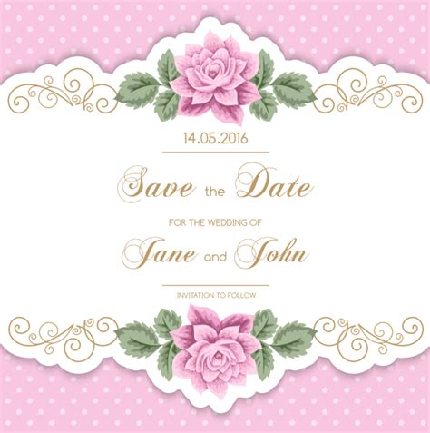 Wedding Invitation Vector by Wedding Invitation Vector Free Gallery