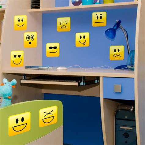 Smiley Deco Sticker by Stickers Muraux Pour Les Enfants Sticker Smileys Pack 4