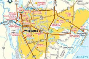 wilmington carolina map wilmington nc area information