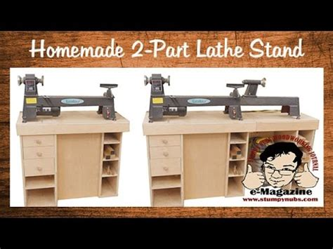 build  homemade stand   minimidifull size lathe