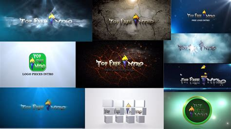 after effect free templates image gallery logo after effects templates