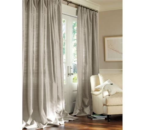 gray silk curtains the sitting room of contemporary and contracted custom