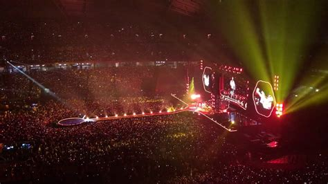 Kaos Coldplay Fix You coldplay fix you live singapore 31st march 2017