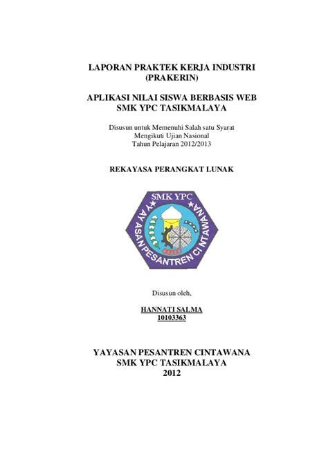 contoh cover laporan pkl laporan prakerin 2014 2015